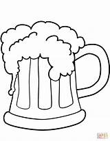 Beer Coloring St Pages Patrick Printable Patricks Supercoloring Drawing Drawings Cool Styles Pattys Snoopy Dot sketch template
