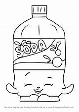 Soda Coloring Bottle Drawing Pages Colouring Template Shopkins Printable Pop Getcolorings Draw Sheet Coke Step Drinks Sketch Getdrawings sketch template