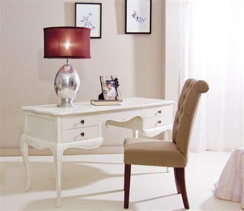 escritorio vintage paris blanco roto lacado deco