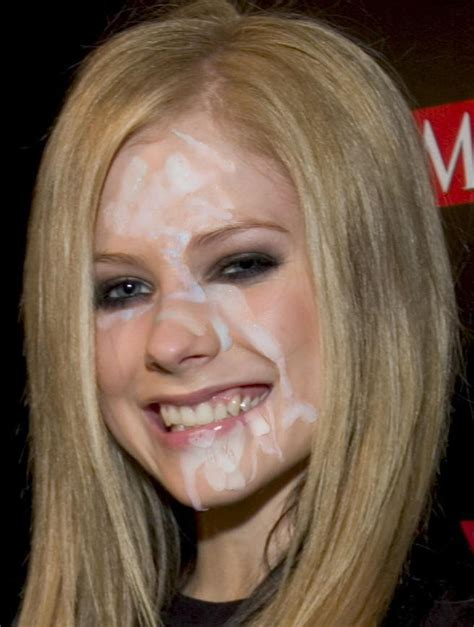 avril lavigne cum in her mouth s hot porno