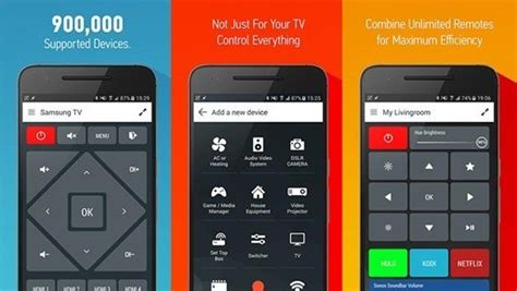best smart remote top 9 best tv remote apps for android smartphone 2018