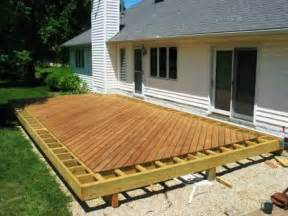 Best Way To Finish A Deck by Anatomy Of A Hardwood Deck Project