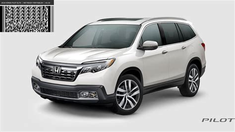 2019 Honda Pilot Revealed?  Honda Pilot  Honda Pilot Forums
