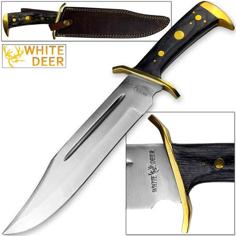 White Deer Magnum Xxl Large Bowie Knife High Carbon