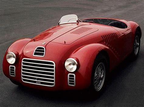ferrari sport car the ferrari 125 s sport v12 1947 the first racing