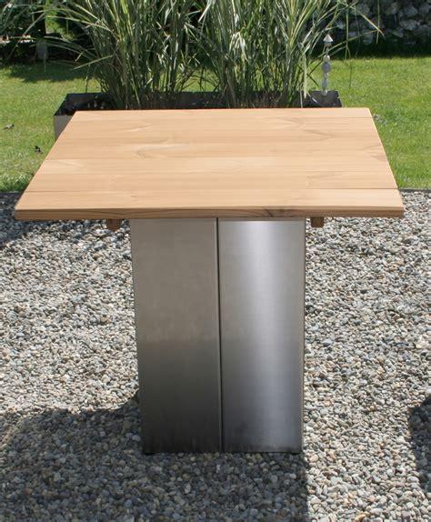 Tisch Garten Edelstahl