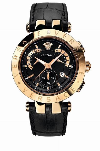 Versace Watches Vrace Wrist Candy Gold Chronograph