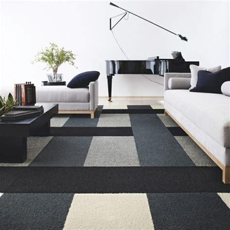 tapis de salon moderne  idees qui vont vous charmer
