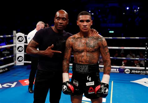 Nigel Benn predicts son Conor will be world champion ...