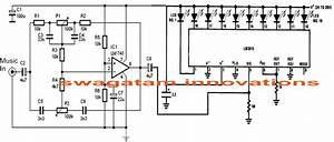 Simple Audio Spectrum Analyzer Circuit
