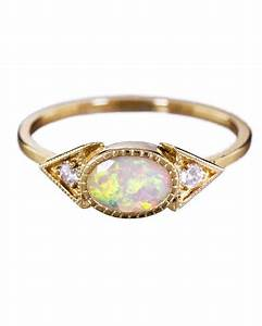 opal engagement rings that are oh so dreamy martha With opal wedding rings