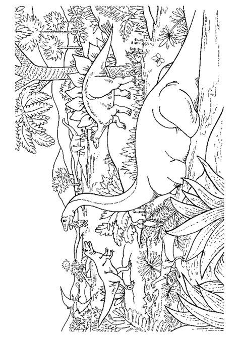Coloriage Découverte Dinosaure Préhistoire