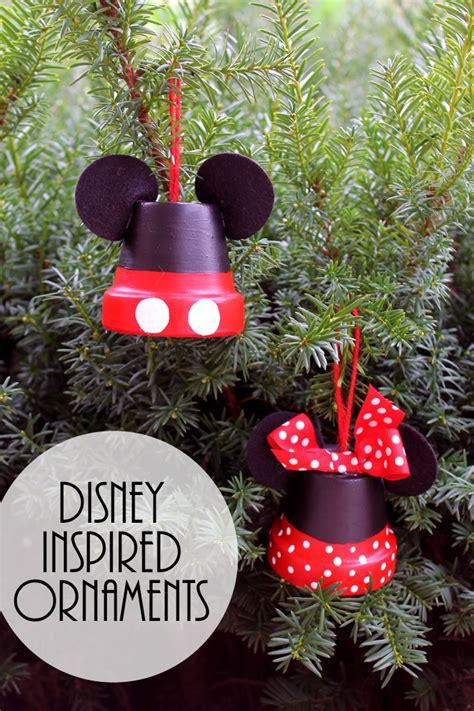 mickey minnie  disney inspired ornaments