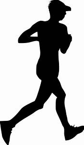 20 Man Running Silhouette (PNG Transparent)   OnlyGFX.com