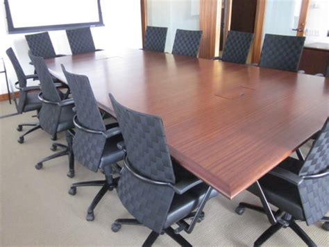 shaped conference table  offices  shaped eco