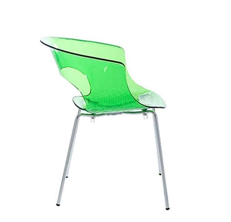 modern lime green chair estyle 686 modern chairs
