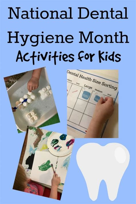 dental hygiene activities  preschoolers  preschool