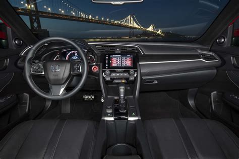 honda civic 2017 interior 2017 honda civic reviews and rating motor trend