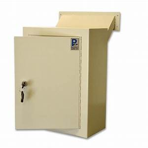 protex mdl 170 wall mount letter locking drop box with With letter drop box