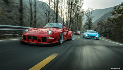 china rwb porsche  carshadow youtube