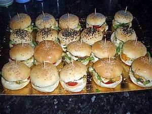 Apero Dinatoire Chaud : recette d 39 ap ritif dinatoire mini hamburger maison ~ Nature-et-papiers.com Idées de Décoration