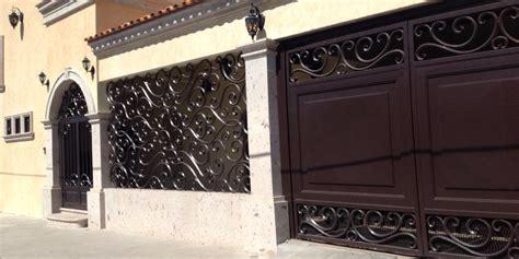 tendencias en puertas de herreria  decoracion de