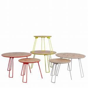 Table En Metal : table basse en bois osb small zuiver ~ Teatrodelosmanantiales.com Idées de Décoration