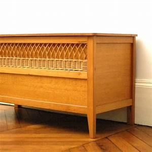 Coffre En Rotin : coffre en bois vintage ~ Teatrodelosmanantiales.com Idées de Décoration
