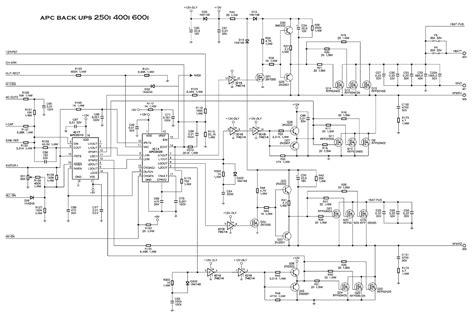 Apc Wiring Diagram by Diagram Electronic Circuit Diagram Linkdeln