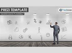 Businessman Planning Prezi Template Prezibase