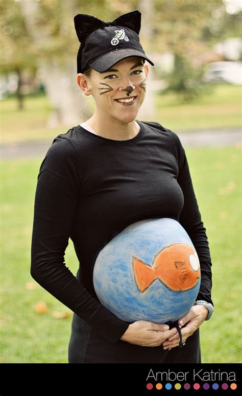 diy pregnant halloween costumes craft