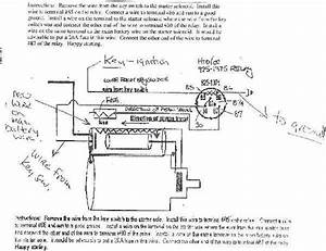 Cub Cadet Starter Relay Diagram