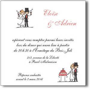 texte carte de remerciement mariage texte humoristique de carte de remerciement de mariage design bild