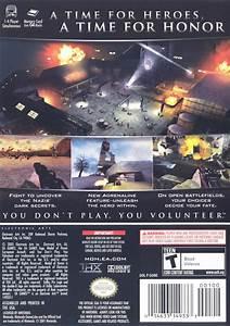 Medal Of Honor  European Assault  2005  Gamecube Box Cover