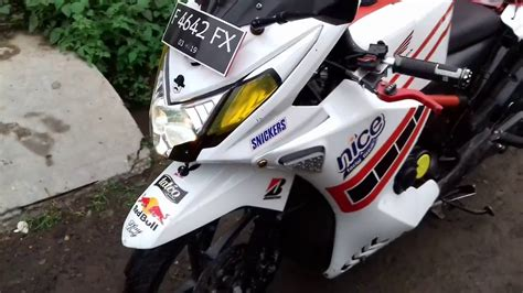 Modifikasi Honda Beat Fi 2013 Motor Matic Full Fairing