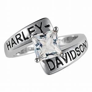 Harley Davidson Ladies Crossroads Birthstone Ring Woman