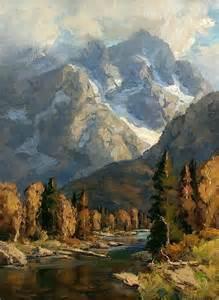 Bill Davidson Artist Painting