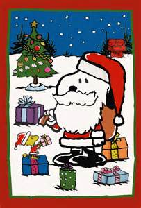 Snoopy Peanuts Christmas Flags