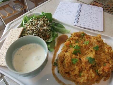 cours de cuisine sans gluten recette du dal bath plat indien ecole vivre autrement cours de cuisine bio végétarien