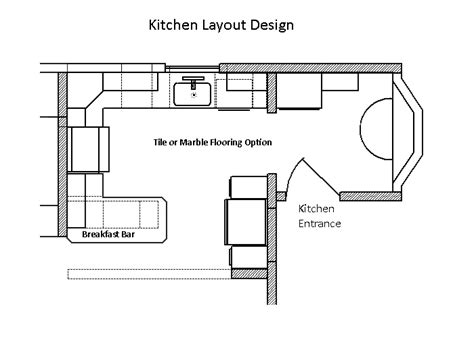 kitchen layout sample cad pro