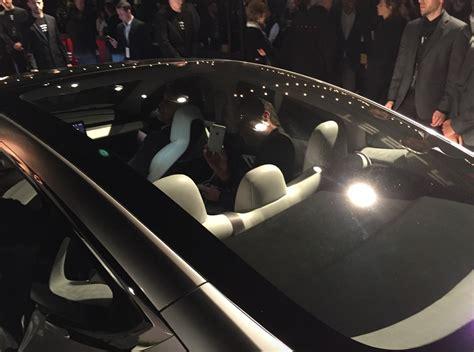 tesla windshield tesla model s receives model 3 like glass roof option