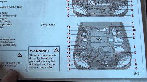 volvo   engine compartment layout diagram youtube