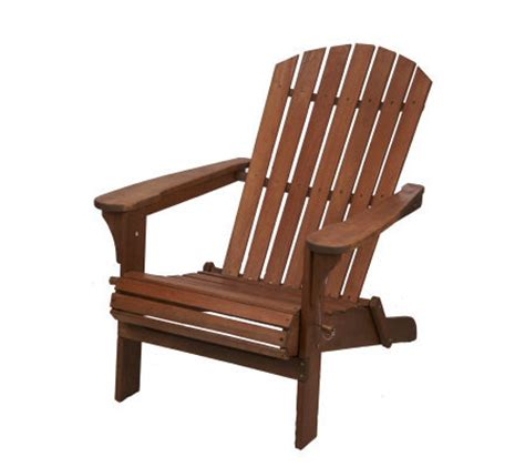 all weather folding wood adirondack chair by plow hearth