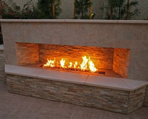 gas outdoor fireplace outdoor gas fireplace home design ideas pictures remodel
