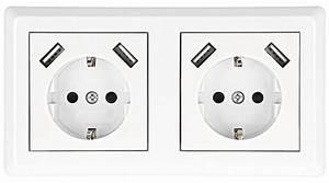 Elektroinstallation Kosten Pro Steckdose : usb steckdosen erste unterputz doppeldosen mit 2 1a ~ Lizthompson.info Haus und Dekorationen