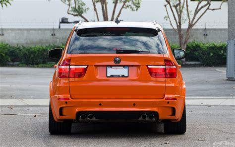 fire orange bmw