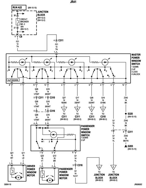 2006 Chrysler Sebring Wiring Diagram by My Power Window Goes Up But Wont Go I Took Motor Out