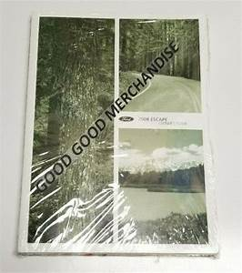 2008 Ford Escape Owners Manual Guide Xls Xlt Limited 2 3l