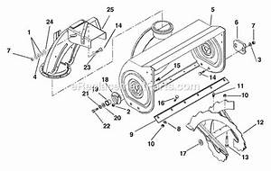Ariens 932100 Parts List And Diagram
