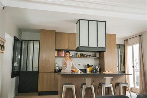 porte de cuisine en verre portes de cuisine en acier et verre les ateliers du 4